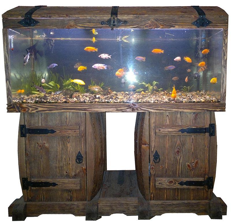 Тумбы аквариума своими руками